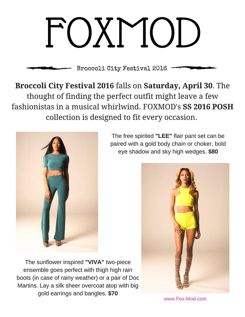 Broccoli City Festival 2016 Flyer